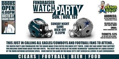 Fundraiser Watch Party For The Grand Hank STEM Center For Inner City Youth tickets