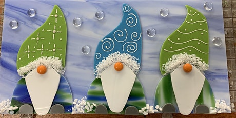 No Place Like Gnome Fused Glass Class tickets