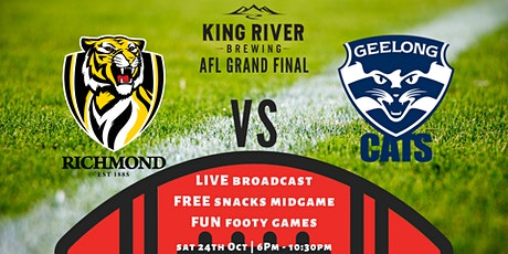 AFL Grand Final @ King River Brewing tickets