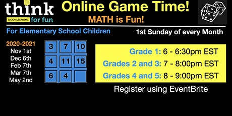 ThinkForFun Online Game Time tickets