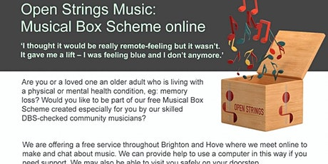 Musical Box Scheme tickets
