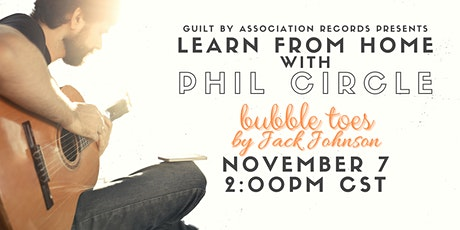 Learn Guitar From Home with Phil Circle tickets