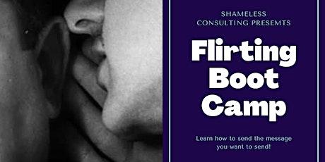Flirting Bootcamp tickets