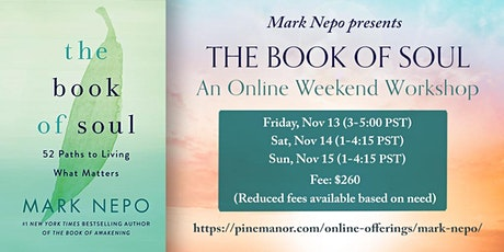 Online Retreat with Mark Nepo-  The Book of the Soul tickets