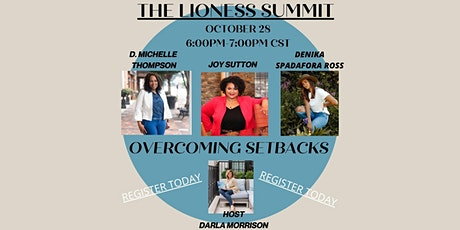 The Lioness Summit/Experts sharing insight both personally & professionally tickets