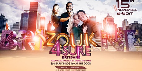 Zouk4Sure // Zouk Workshop with Jamie & Sandro / Magno & Kayleigh tickets
