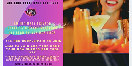 McFierce Experience's Private Outdoor Mixology 101 tickets