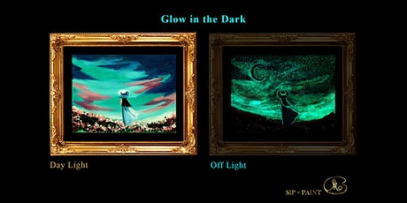 Sip and Paint (Glow in the Dark): Little Wishes (2pm Saturday) tickets