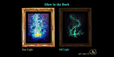 Sip and Paint (Glow in the Dark): Piano vs Ballet (2pm Saturday) tickets