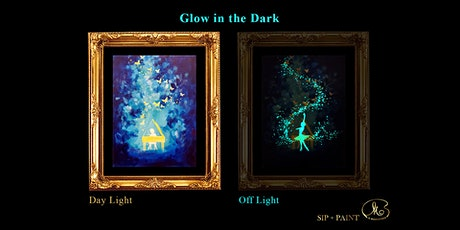 Sip and Paint (Glow in the Dark): Piano vs Ballet (8pm Saturday) tickets