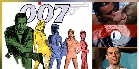 The Sean Connery Bond Canon, Pt II: Dr. No & From Russia with Love Webinar tickets