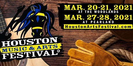 2021 Houston Music & Arts Festival at The Woodlands tickets