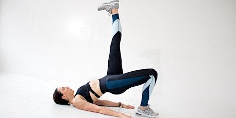 Live Pilates Class on Zoom - Monday 10/26 5:45PM ET tickets