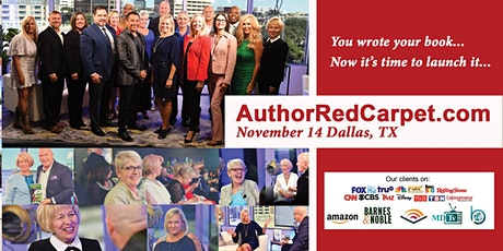 Author Red Carpet Dallas, TX November 14 tickets