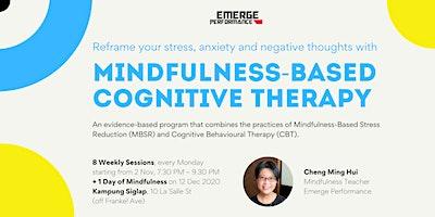 Mindfulness Based Cognitive Therapy (MBCT): 2 Nov – 21 Dec 2020