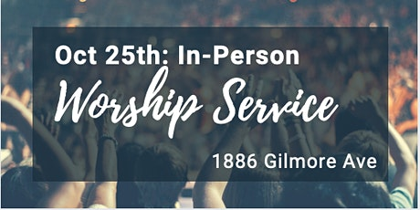In-Person Sunday Service - Oct 25th tickets