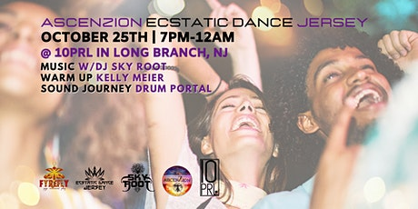 AscenZion/Ecstatic Dance Jersey w/DJ Sky Root +Cacao Ceremony tickets