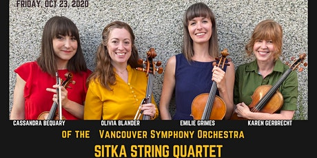 Sitka String Quartet - VSO Musicians tickets