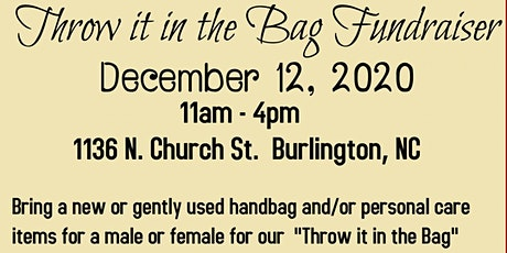 """""""Throw it in the Bag"""" Fundraiser tickets"""
