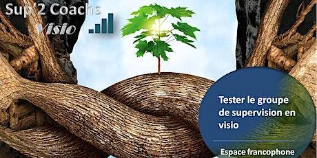 Testez une séance de supervision en visio et en groupe billets