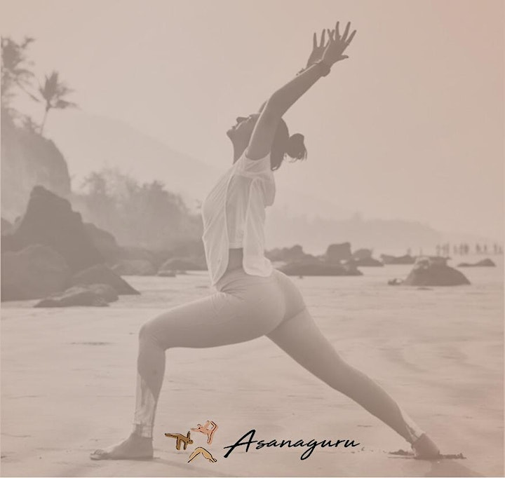 Ashtanga half primary series yoga class by Asanaguru | TUES image