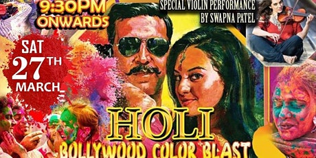 Holi Ayee Re (Real Color Splash) - Special Bollywood Dance Party tickets
