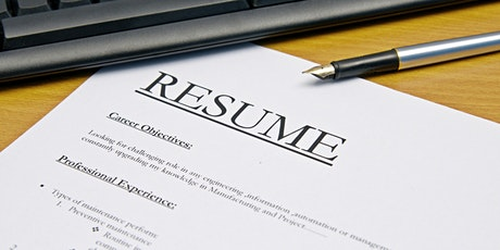 Resumes and Cover Letters tickets