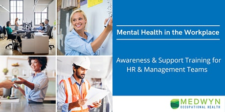 Mental Health in the Workplace - Awareness & Support Training tickets