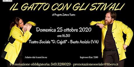 IL GATTO CON GLI STIVALI | SPETTACOLO TEATRALE PER BAMBINI tickets