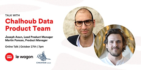 Le Wagon Talk with the Chalhoub Data Product Team, at Chalhoub Group tickets