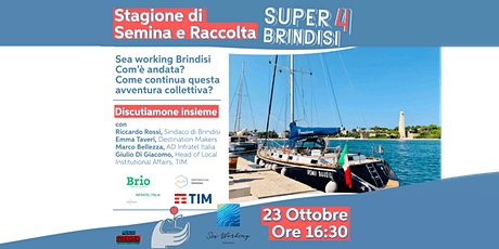 Super Brindisi 4: Sea Working Brindisi biglietti