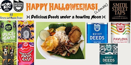 Happy HalloweeNasi (Lemak) - Delicious Deeds under a Howling Moon tickets