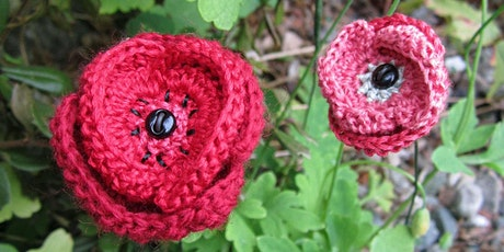 Not Quite Beginner Crochet   Poppies tickets