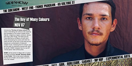The Boy of Many Colours tickets