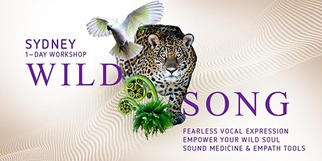 Wild Song – Fearless Soul Expression and Sound Medicine tickets