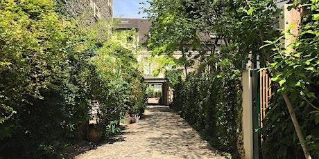 Cours et passages discrets du Faubourg billets