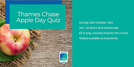 Thames Chase Apple Day Quiz tickets