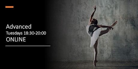 Advanced (Online) Tuesdays 18:30-20:00 tickets