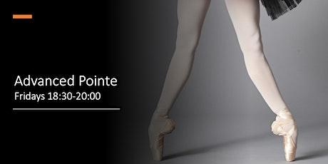 Advanced Pointe Fridays 18:30-20:00 tickets