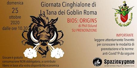 GIORNATA CINGHIALONE - Bios:Origins di Phil Elkund - 25 ottobre biglietti