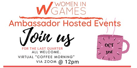 Women in Games Ambassador Hosted Events with Joy Ajayi tickets