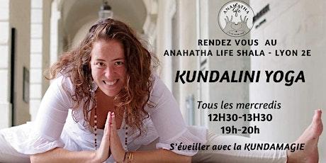 KUNDALINI YOGA AU ANAHATHA LIFE SHALA - LYON 2 & ONLINE billets