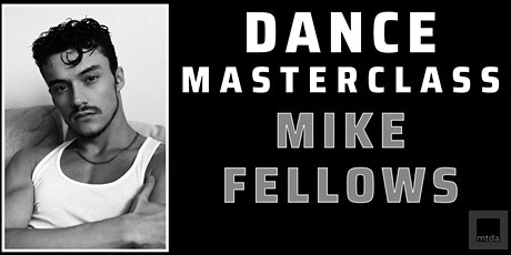 Lyrical/Contemporary Dance ONLINE Masterclass with Mike Fellows tickets