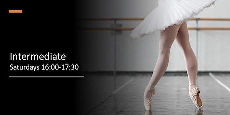 Intermediate  Saturdays 16:00-17:30 tickets