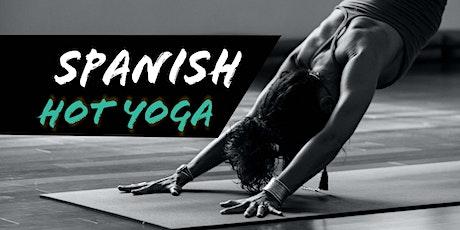 Spanish Hot Yoga tickets
