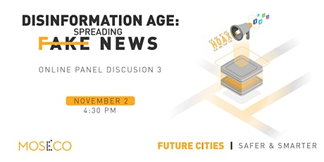 Disinformation Age: Spreading Fake News tickets