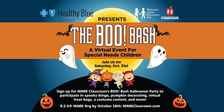 The BOO! BASH - Virtual Halloween Party for Special Needs Kids tickets