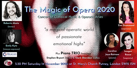 The Magic of Opera 2020 tickets