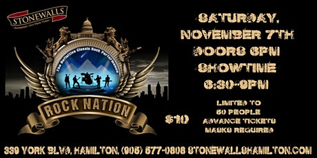 Rock Nation LIVE at Stonewalls tickets