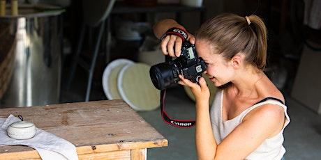 Workshop für Produktfotografie deiner eigenen Produkte Tickets